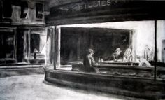 Edward Hopper, Sketches and preliminaries for Nighthawks, 1942