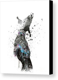 #dogpainting #splatter #pets #dog #watercolor