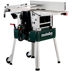 Raboteuse dégauchisseuse stationnaire Metabo HC 260 C 2200 W A Double Tranchant, Drafting Desk, Cover, Outdoor Decor, Furniture, Home Decor, Simple, Products, Table