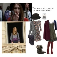 """Violet Harmon"" by lilwhatley on Polyvore"