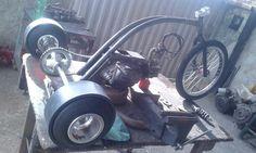Drift trike motorizado 100cc motor DAFRA