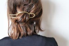 Hardware.. #HairInspiration #Chopped #Hardware #HairAccessory #HairPin