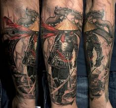 Samurai tattoo by Elle. Limited availability at Salvation Tattoo Studios. Ronin Tattoo, Samurai Tattoo, Samurai Art, Get A Tattoo, Tattoo Shop, Back Tattoo, Cute Fox Drawing, Gladiator Armor, Salvation Tattoo
