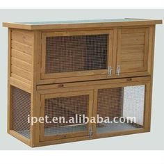 Cheap 3ft Outdoor Wooden Rabbit Cage With Plastic Tray - Buy Rabbit Cage,rabbit…