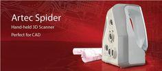 """Artec Spider  Spider – Il nuovo scanner 3D per piccoli e dettagliati oggetti     Con un prezzo di 20.500$, il nuovo modello presentato da Artec Group si rivolge al mercato degli utenti CAD che operano nella manifattura.  Colloquio con Anna Zeveliyov e Artem Yiukhin  """"Questo scanner è stato progettato per soddisfare le esigenze di milioni di utenti CAD nel mondo"""", dice Anna Zevelyov, Business Development Director di Artec Group. Leggi il seguito nella sezione news di sharemind.eu"""