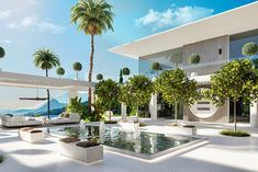 Modern Tropical House, Modern House Design, New Luxury Cars, Dream Mansion, New Architecture, Farms Living, Dream House Exterior, Home Room Design, Modern Exterior
