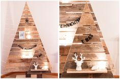 I love diy´s with old palletts - that´s why this year we started a new project: pallett tree workshops --> Have a look at my post and get more info