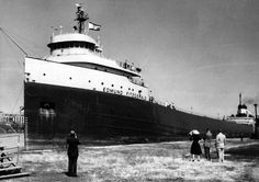 The Edmund Fitzgerald_An Iron Ore Carrier of the Great Lakes.