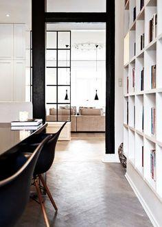 dining+room+wood+floors+herringbone+encasement+iron+interior+windows+doors+cococozy.JPG 356×500 pixel