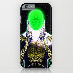 MIND #4 Concentrating Meditation Psychedelic Ethereal Character iPhone & iPod Case