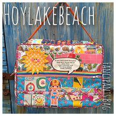 """#handmade #bespoke #oneoff #madewithlove www.facebook.com/Hoylakebeach fancypants #bag"""