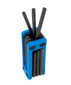 Performance Tool W9185 Folding MET Hex Key Set, 17 Peices