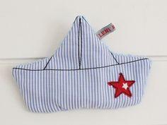 Knistertücher - ⚓ Knisterboot ⚓ Greifling ⚓ - ein Designerstück von LENIundZeus bei DaWanda