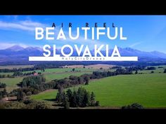 This is an Air Reel video of Beautiful Slovakia from the East to the West. The High Tatras to Orava High Tatras, Heart Of Europe, Dji Phantom 4, European Destination, View Video, Aerial Photography, Travel Photography, Europe Travel Tips, Aerial View