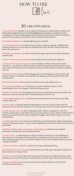 20 Creative Ideas Fo