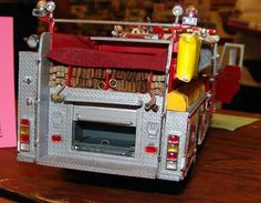 pumper firetruck model kits