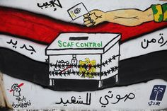Egypt's colourful campaign