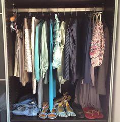 My summer wardrobe - 30 pieces