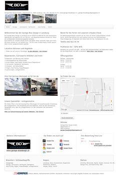 Garage Blue Design GmbH, Lenzburg, Garage, Carrosserie, Spritzwerk