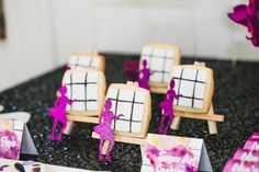 Modern Art Watercolor Birthday Party | Kara's Party Ideas
