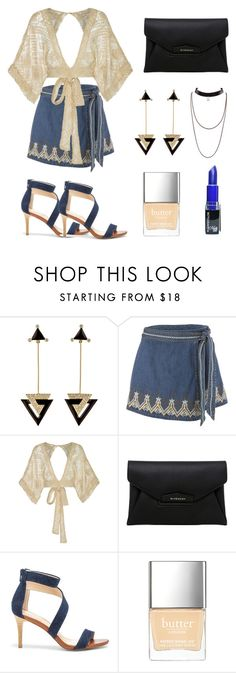 """""""Untitled #368"""" by leah3000 ❤ liked on Polyvore featuring Hanut Singh, Free People, All That Remains, Givenchy, Sole Society and Butter London"""