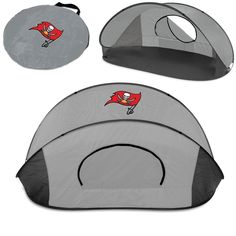 Portable Tampa Bay Buccaneers Digital Print Protection Manta Sun Shelter Tent
