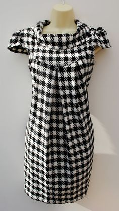 Checked dress, similar in style to Chloe dress at Tangent