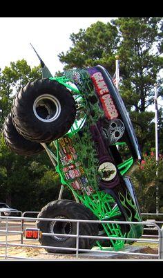 Monster Jam, Monster Trucks, Clash Of The Titans, Digger, Big Trucks, Album, Vintage, Vintage Comics, Big Rig Trucks