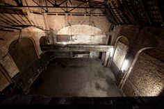 recently discovered abandoned cabaret theater, right in the heart of east Berlin