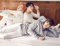 Jimin, J-Hope and Jin