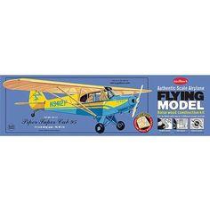 Guillow's Piper Super Cub 95 Laser Cut Model Kit, Multicolor