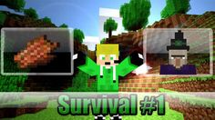 Minecraft - [Survival #1] - [Vivendo a Base de Carne Podre]