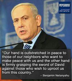 Powerful quote from Benjamin Netanyahu