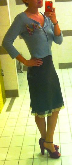 Skirt and those shoes