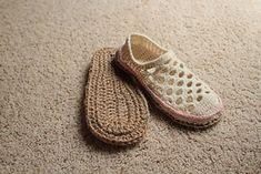 Jute Soles in 14 sizes (toddler to men!) by Tara Murray