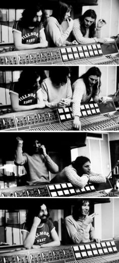 Meddle recording sessions at Abbey Road Studios   January - August, 1971