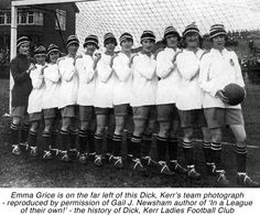 sutton ladies football team Munitioneers