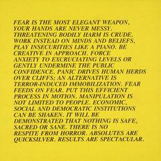 Jenny Holzer, '[no title]' 1979-82