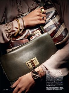 Elle US March 2010: Spring's Objects of Desire