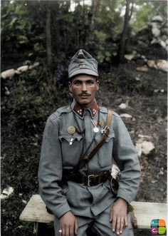 Austro-Hungarian soldier of Howitzer Battery, Mountain Artillery Regiment, Field Artillery Brigade, Army on the Isonzo Front in Colorized History, Ww1 History, Colorized Photos, European History, Military History, Modern History, Triple Entente, Wilhelm Ii, Kaiser Wilhelm