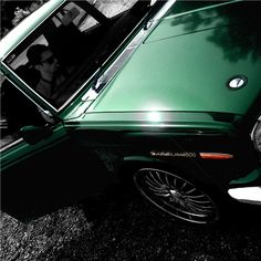 A thing of beauty. Datsun 1600, Engineering, Bmw, Rotary, Green, Emerald, Cars, Beauty, Autos