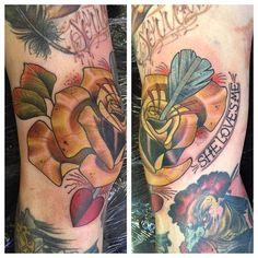 Two knees in one week win….. Cheers Richard neil dransfield tattoo