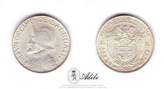 1962 #PANAMA #Silver Un Decimo de Balboa 1/10 #Coins http://etsy.me/1C5qwfI @Etsy