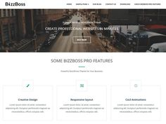 Bizzboss is a perfect, super adaptable , quick in stacking, bootstrap based , portable responsive and present day looking premium quality WordPress template. It can be utilized for any specialty...