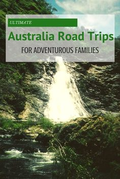 Ultimate Australia road trips for adventurous families: Great Ocean Road, Legendary Pacific Coast, and Red Centre Way. #TBIN