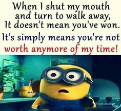 Funny Minions from Fort Worth AM, Monday August 2016 PDT) - 35 pics - Minion Quotes Funny Minion Pictures, Funny Minion Memes, Minions Quotes, Funny Jokes, Hilarious, Minion Humor, Funny Photos, Funny Images, Minion Sayings