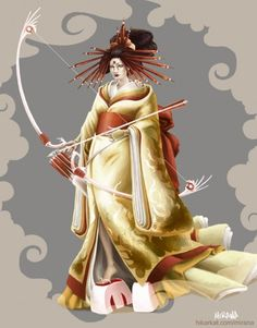 Amaterasu's themes are the sun, tradition, unity, blessings, community, and kinship.  Her symbols are a mirror, gold or yellow items.  Amaterasu is unique among Goddesses, being one of the few women to personify the sun. In Japan She rules over cultural unity, kinship and the blessings that someone with the name 'Illuminating Heaving' might be expected to bestow. Amaterasu's sun  nudges the greenery to reach toward Her light and prods us toward re-establishing harmony in all our…