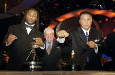 1999 Lennox Lewis - Boxing (Pictured with Muhammed Ali who won a special Millennium award)