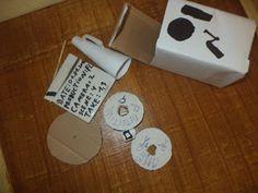 In aceasta postare o sa va prezint un echipament de regizor facut din carton .  Aceasta este cutia care este camera de filmat are un capac c... Barware, Coasters, Coaster, Tumbler