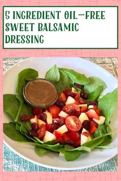 My Recipes, Gluten Free Recipes, Creamy Balsamic Dressing, Recipe Ratings, Balsamic Vinegar, Healthy Eating, Appetizers, Lunch, Vegan